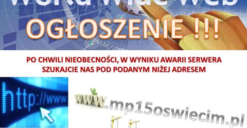 Nowy adres strony internetowej