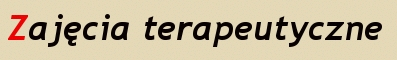 zajecia terapeutyczne